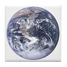 Earth - Big Blue Marble Tile Coaster
