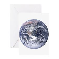 Earth - Big Blue Marble Greeting Card