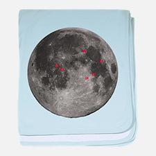 Full Moon baby blanket