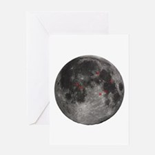 Full Moon Greeting Card