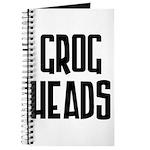GrogHeads Text Logo Journal