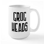 GrogHeads Text Logo Large Mug