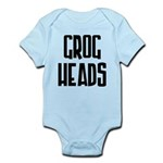 GrogHeads Text Logo Infant Bodysuit