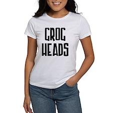 GrogHeads Text Logo Tee