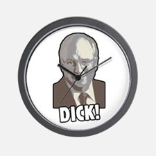 DICK! (Cheney) Wall Clock