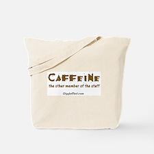 Caffeine On Staff Tote Bag