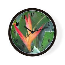 Bird of Paradise - Wall Clock
