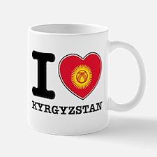 I heart Kyrgyzstan Small Small Mug