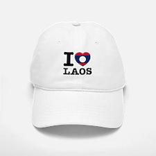 I heart Laos Baseball Baseball Cap