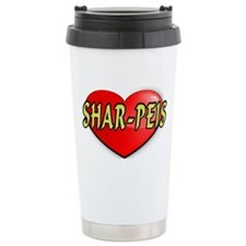 LOVE SHAR-PEIS Travel Mug