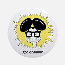 Al B. Mouse Got Cheeses? Ornament (Round)