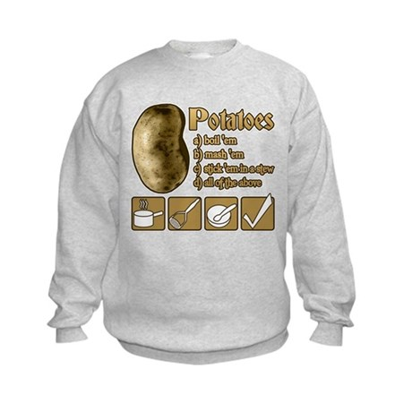 Potatoes Kids Sweatshirt