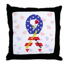September 11 Anniversary Throw Pillow