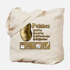 Potatoes Tote Bag