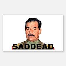 saddam pictures sticker