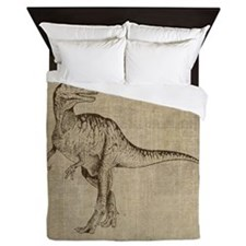 Vintage Tyrannosaurus Queen Duvet