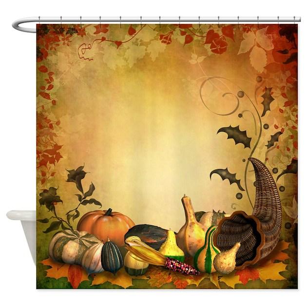 Thanksgiving Shower Curtain By Showercurtainshop