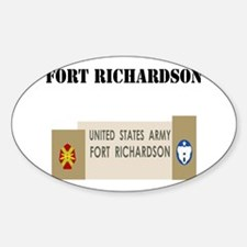 Fort Richardson with Text Decal