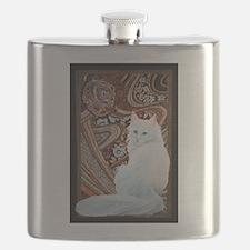 White Turkish Angora Flask
