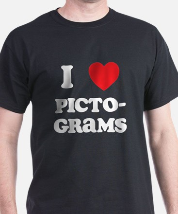 I Love Pictograms T-Shirt
