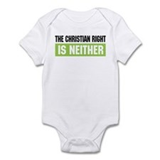 Christian Right Infant Creeper