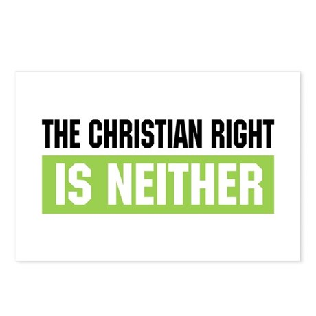 Christian Right Postcards (Package of 8)