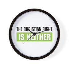 Christian Right Wall Clock