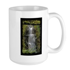 Garden Waterfall Watercolor Mug