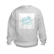 LITTLE BLUE LOTUS Sweatshirt