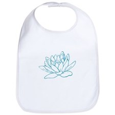 LITTLE BLUE LOTUS Bib