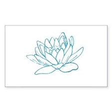 LITTLE BLUE LOTUS Decal