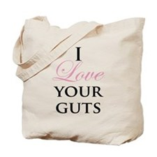 Love Your Guts Tote Bag