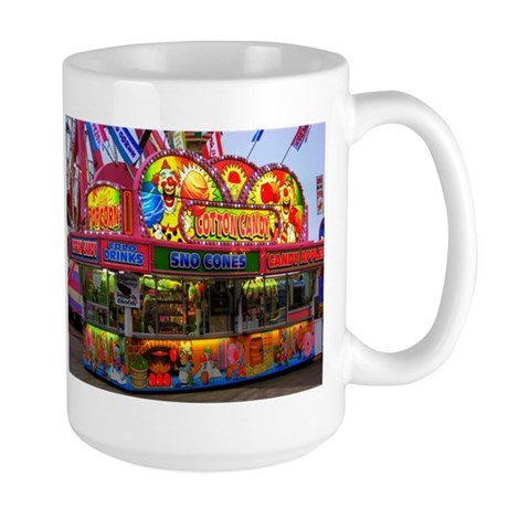 Clown Cotton Candy Large Mug