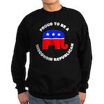 Wisconsin Republican Pride Sweatshirt (dark)