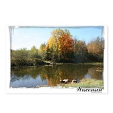 Autumn Pond Postcards (Package of 8)