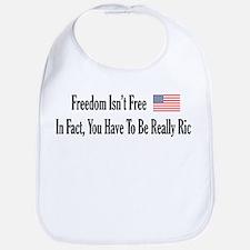 Freedom Isn't Free Bib