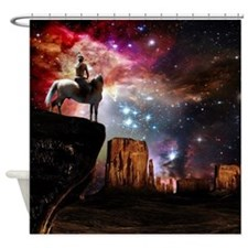 Native American Universe Shower Curtain
