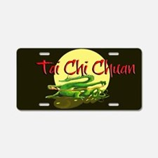 Aluminum License Plate, Tai Chi Chuan Dragon