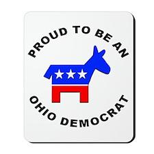 Ohio Democrat Pride Mousepad