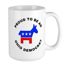 Ohio Democrat Pride Mug