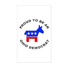 Ohio Democrat Pride Decal