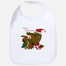 Cajun Christmas Apparel Bib