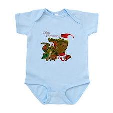 Cajun Christmas Apparel Infant Bodysuit