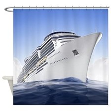 Cruise Ship Shower Curtain
