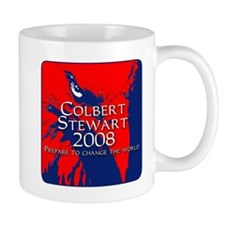 Blue and Red Colbert Stewart Mug