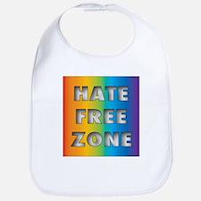 Hate Free Zone Bib
