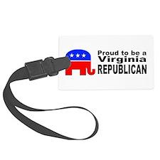 Virginia Republican Pride Luggage Tag