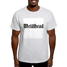 Metalhead Ash Grey T-Shirt