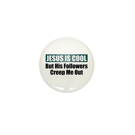 Jesus Is Cool Mini Button (10 pack)