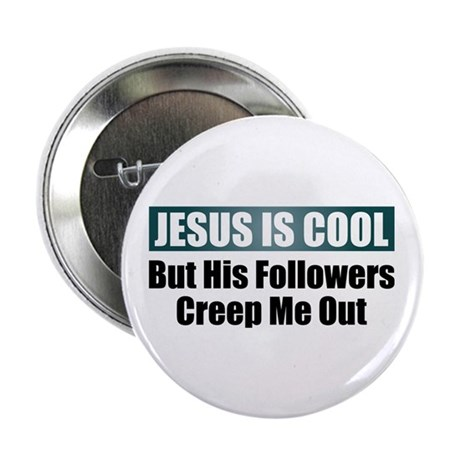 """Jesus Is Cool 2.25"""" Button (10 pack)"""